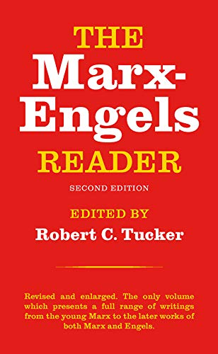 Marx Engels Reader 2nd Edition: Karl Marx, Tucker