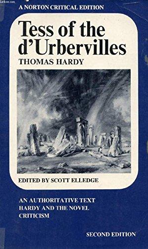 Tess Of The D'urbervilles: An Authoritative Text.: Hardy, Thomas; Elledge,
