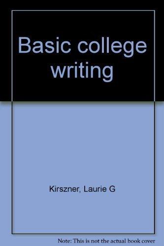 9780393090475: Basic college writing