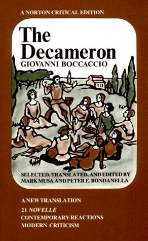 9780393091328: The Decameron: A New Translation : 21 Novelle, Contemporary Reactions, Modern Criticism