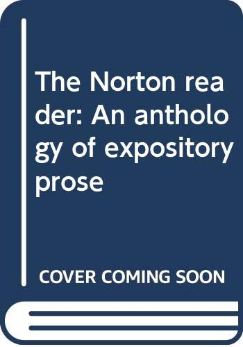 The Norton reader: An anthology of expository: Eastman, Arthur M