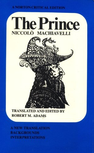 an analysis of the book prince by niccolo machiavelli and the criticisms for the publication of the  Few figures in the history of political thought evoke such strong reactions as niccolò machiavelli (1469-1527) renowned as the author of the prince (c1513), his infamous treatise has become an established milestone in the history of western thought, and – as the word 'machiavellian' suggests – he himself has come to be regarded as the.