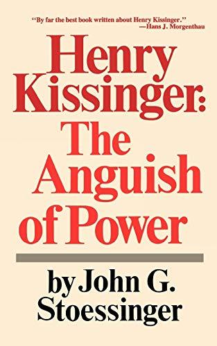 9780393091533: Henry Kissinger Ang Of Pow