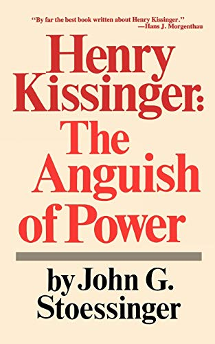 9780393091533: Henry Kissinger: The Anguish of Power