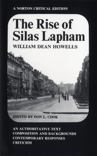 9780393091656: The Rise of Silas Lapham (Norton Critical Editions)