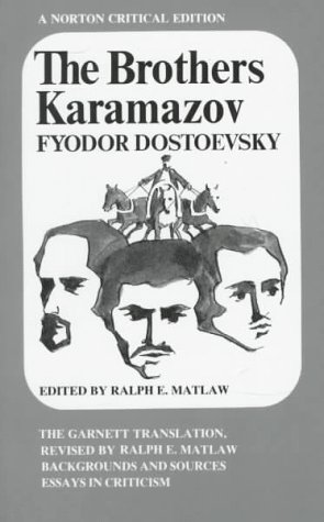9780393092141: The Brothers Karamazov: The Constance Garnett Translation Revised by Ralph E. Matlaw : Backgrounds and Sources, Essays in Criticism