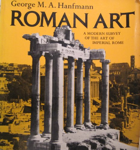 9780393092226: Roman Art: A Modern Survey of the Art of Imperial Rome