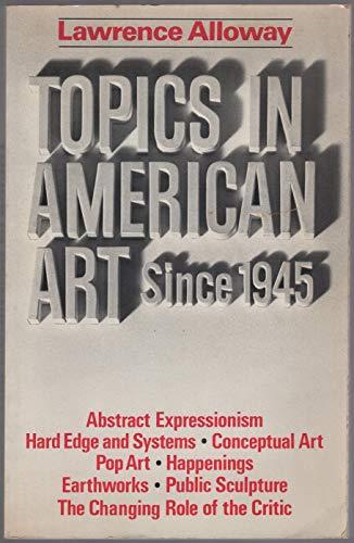 9780393092370: Topics in American Art Since 1945 (Norton Critical Editions)