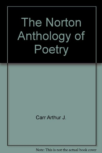 9780393092455: The Norton Anthology of Poetry