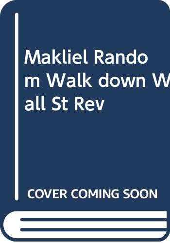 9780393092462: Makliel Random Walk down Wall St Rev