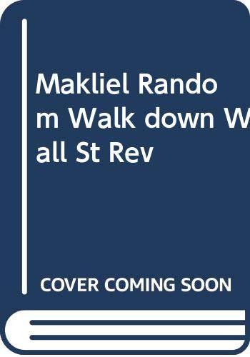 9780393092462: Makliel Random Walk down Wall St Rev