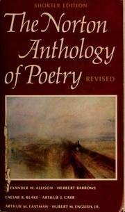 9780393092516: The Norton Anthology of Poetry: Revised Shorter Edition