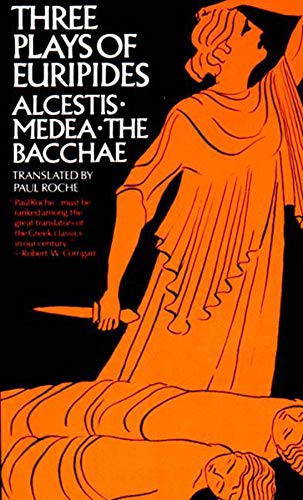 9780393093124: Three Plays of Euripides: Alcestis, Medea, The Bacchae