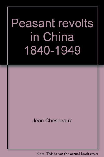 9780393093445: Peasant revolts in China 1840-1949