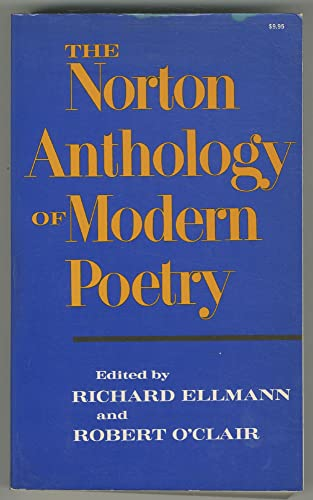 9780393093483: The Norton Anthology of Modern Poetry