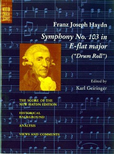 9780393093490: Symphony No. 103 in E-Flat Major (