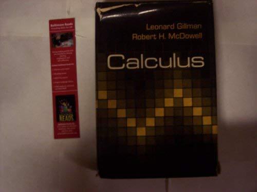 Calculus: Gillman, Leonard