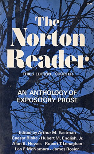 9780393093704: The Norton reader;: An anthology of expository prose