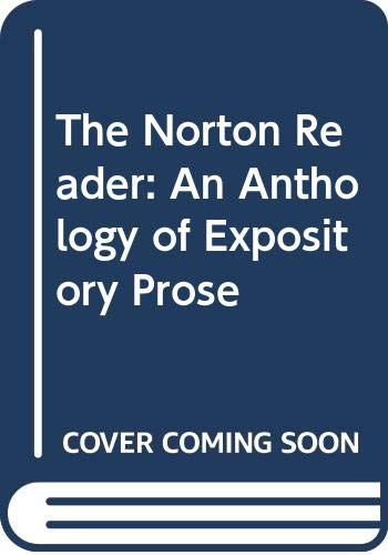 9780393093834: The Norton Reader: An Anthology of Expository Prose
