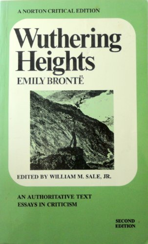 Wuthering Heights (Norton Critical Editions): Bronte, Emily