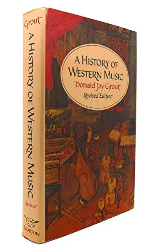 9780393094169: Grout History of West Music Rev Reg