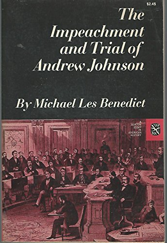 9780393094183: The Impeachment and Trial of Andrew Johnson