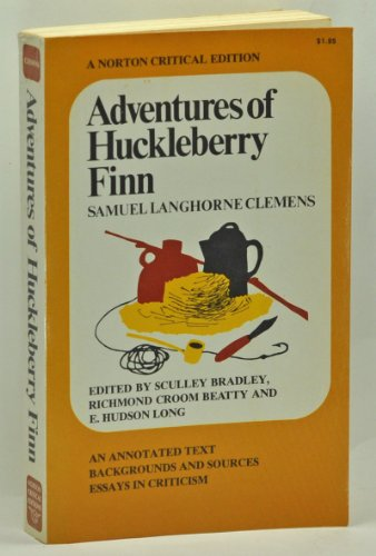 9780393095067: Adventures of Huckleberry Finn. An Annotated Text. Backgrounds and Sources. Essays in Criticism. (Norton Critical Editions)