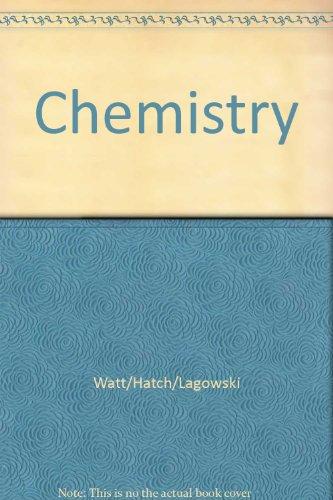 Chemistry in the Laboratory: George W. Watt;