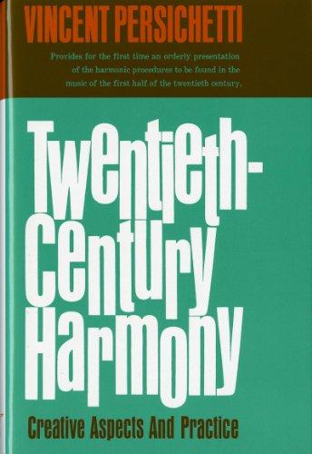 9780393095395: Twentieth-Century Harmony: Creative Aspects and Practice