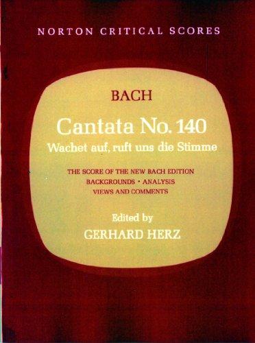 9780393095555: Cantata No. 140 (Norton Critical Scores)