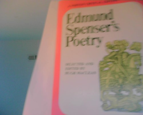 9780393095692: Edmund Spenser's Poetry