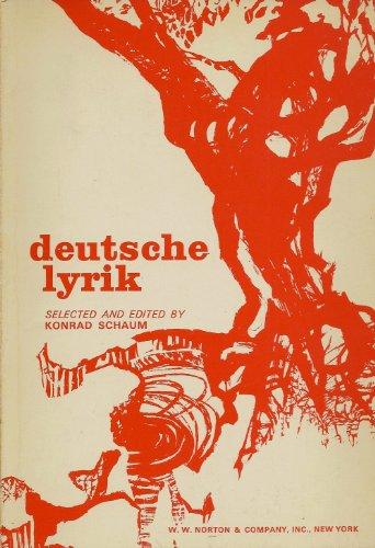 9780393096125: Deutsche Lyrik
