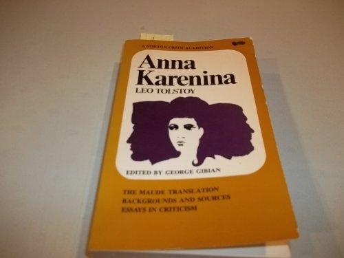 9780393096712: Anna Karenina (Norton Critical Editions)