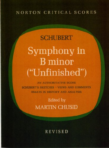 9780393097313: Symphony in B Minor (Unfinished) (Critical Scores)