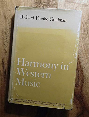 9780393097467: Goldman Harmony in Western Music