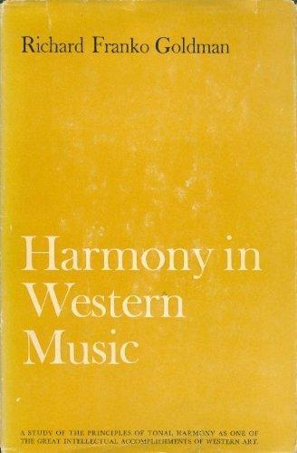 9780393097467: Harmony in Western Music