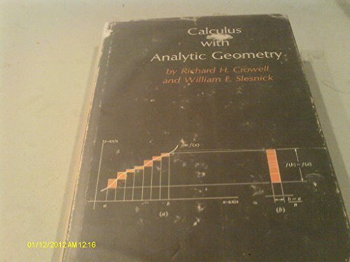 9780393097825: Calculus With Analytic Geometry