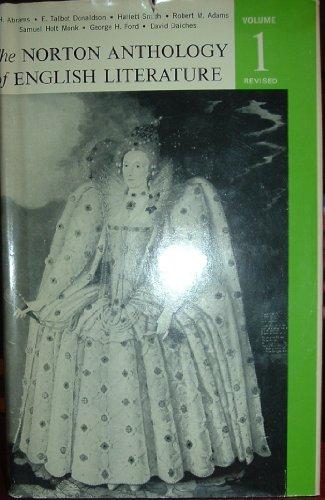9780393097993: The Norton Anthology of English Literature Volume 1 Revised