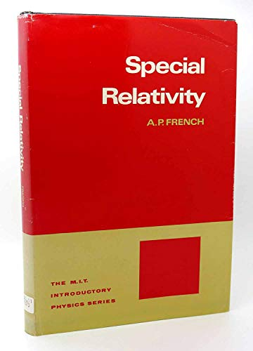 9780393098044: Special Relativity (M.I.T. Introductory Physics Series) [Hardcover] by French...