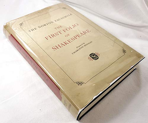 The Norton Facsimile: The First Folio of: Shakespeare, William; Charlton