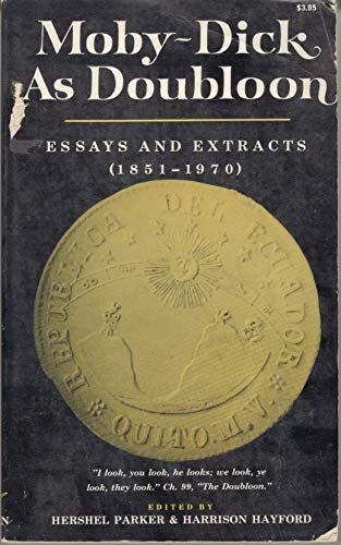 Moby-Dick as Doubloon: Essays and Extracts, 1851-1970. (0393098834) by Norton W W