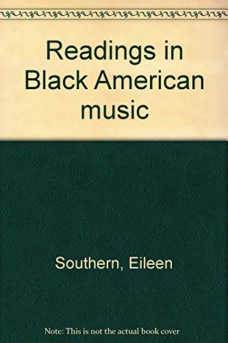 9780393098921: Readings in Black American music