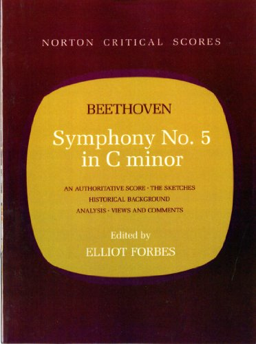 9780393098938: Symphony No. 5 in C Minor (Norton Critical Scores)