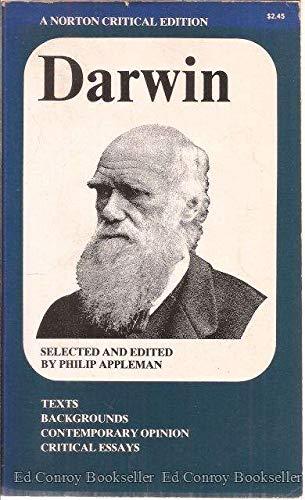 Darwin (Norton Critical Edition): Charles Darwin