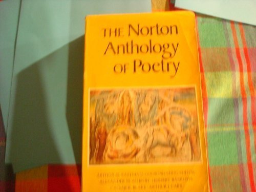 9780393099225: The Norton Anthology of Poetry, 1st, First Edition