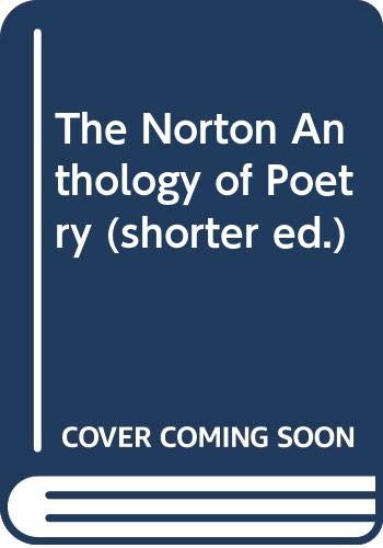 9780393099355: The Norton Anthology of Poetry