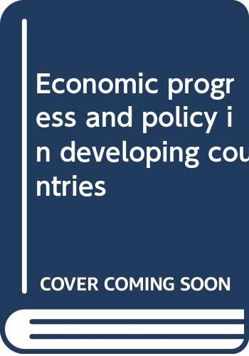 9780393099614: Economic progress and policy in developing countries