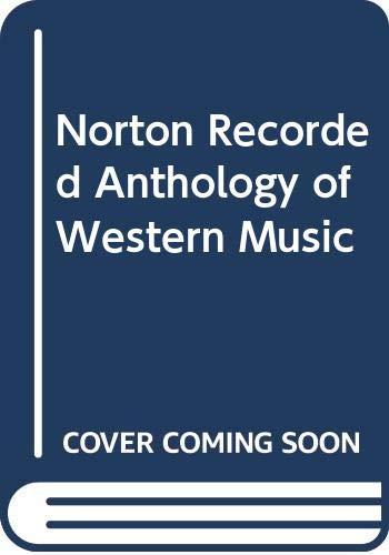 9780393100587: Norton Recorded Anthology of Western Music: 2