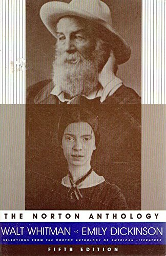The Norton Anthology - Walt Whitman & Emily Dickinson: Hershel Parker (Editing)