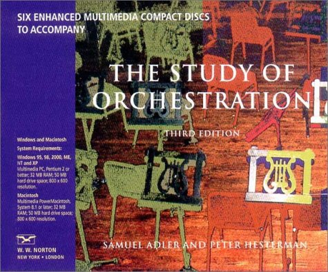 9780393102833: Six Enhanced Multimedia Compact Discs to Accompany The Study of Orchestration, Third Edition
